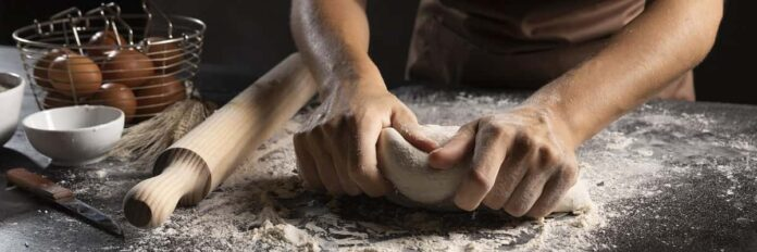 Do you knead the dough before or after it rises?